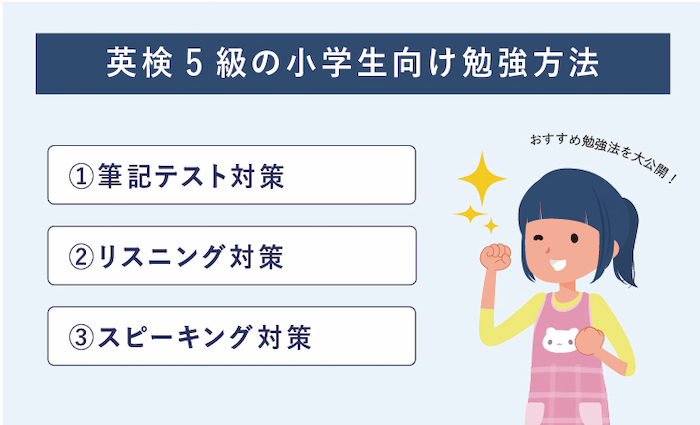 英検5級 小学生 勉強法